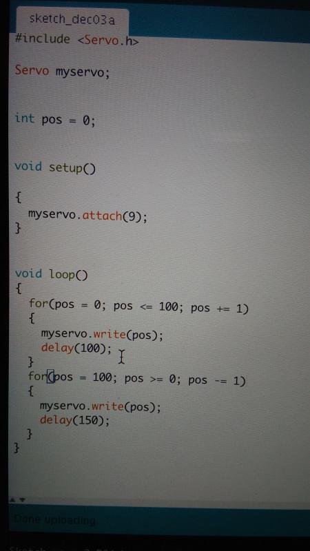 servo code